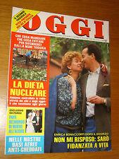 OGGI=1986/21=BONACCORTI=GRAZIELLA FRANCHINI=SHI PEI PU=SANDRELLI NINI TIRABUSCIO