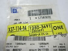 88-07 GM Front Side Door Lock Cylinder Shutter Spring NOS 12503691