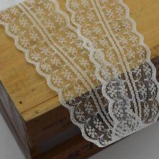 300Yards 4.5cm wide Handicrafts Net Lace Trim Ribbon Flat Lace Trim wholesale