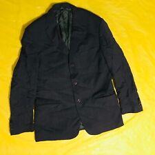 Valentino USA Size 42 L/XL Suit Grey 100% Wool Vintage Retro Formal