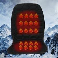 12V Heated Car Seat Cushion Heating Heater Warmer Universal Mat Pad Cover Winter