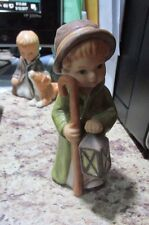 Goebel Weinacht Boy With Cane & Lantern Figurine