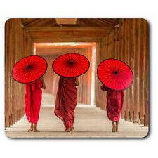 Computer Mouse Mat - Pagoda Myanmar Burma Umbrella Office Gift #3545