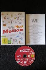 WII : WII PLAY : MOTION - Completo, ITA ! Tanti giochi in 1 ! Compatibile Wii U