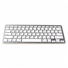 Russian Mini Wireless Bluetooth 3.0 Slim Keyboard For Mac Windows PC Tablet New