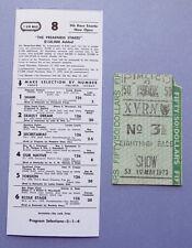 1973 PREAKNESS $50 SHOW Ticket on SECRETARIAT