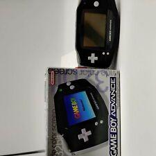 Nintendo Game Boy Advance | Schwarz | OVP | Originalverpackung