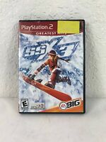 SSX 3 (Sony PlayStation 2 PS2, 2003) COMPLETE CIB - Tested