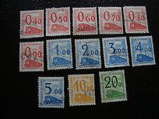 FRANCE timbre - yvert et tellier colis postaux et autres n°35 a 47 -stamp french
