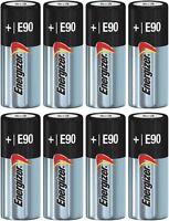 Energizer N E90 Batteries Alkaline 1.5 Volt LR1 MN9100 910A x 8