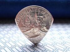 Genuine U S Quarter Dollar Coin Pick.Electric & Acoustic guitar . UNIQUE TO EBAY
