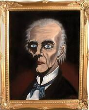"""Haunted Painting """"EYES FOLLOW  YOU"""" Mansion House Master Gracey Halloween Prop"""