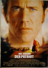 (Gerollt) Kinoplakat - Der Patriot (2000) Mel Gibson, Heath Ledger #344