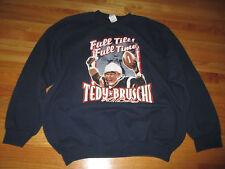 "TEDY BRUSCHI ""Full Tilt! Full Time!"" NEW ENGLAND PATRIOTS (XL) Sweatshirt"