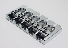 Brand new 5 string Hipshot A style aluminium chrome bass bridge 0.750 19mm bajo