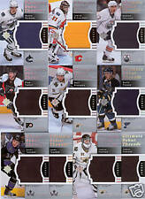 07 08 ULTIMATE COLLECTION 10 CARD LOT ROOKIE JERSEY 200
