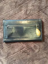 Coach Butter Soft Black Leather Wallet Clutch