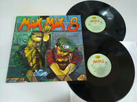 "Max Mix 8 Max Music Italo Dance 1989 - 2 x LP Vinilo 12"" VG/VG"