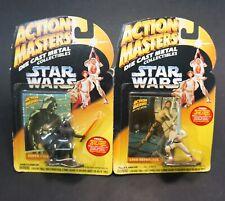 Star Wars Action Masters Darth Vader & Luke Die-Cast Metal Collection Lot Kenner