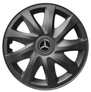 16'' Wheel trims for Mercedes Sprinter III 2019 - on gunmetal 4x16''