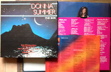 DONNA SUMMER / THE BOX - 3LP (printed in U.S.A. 2005) EX /EX