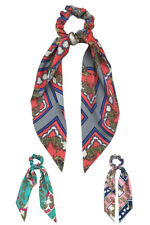ScarvesMe Boutique Women Mixed Pattern Print Ponytail Holder
