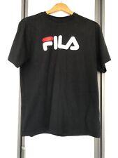 Fila Womens T Shirt Size M In Black