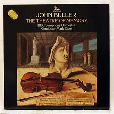 MARK ELDER - JOHN BULLER the theatre of memory UNICORN LP NM