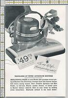 Hoover Vacuum Cleaner 1935 magazine print ad