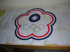 New listing 100% New Republic of China Roc Taiwan Chinese Taipei Olympic Ensign Flag 3X5ft