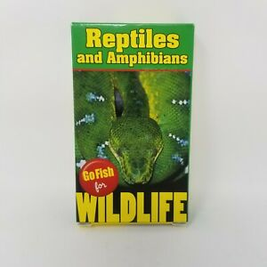 Go Fish Card Game For Wildlife Reptiles Amphibians Rummy Crazy 8 Snap