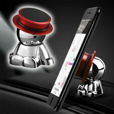 1x 360° Rotation Red Magnetic Car Dashboard Phone Mount Stand Holder Accessories
