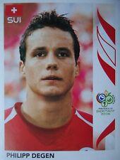 Panini 476 Philipp Degen Schweiz FIFA WM 2006 Germany