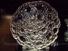 """Royal Copenhagen Crystal Moon Per Lutkin 8"""" Bowl (1995) handmade Denmark Rare"""