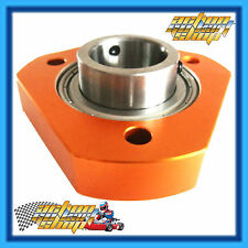 GO KART BEARING CARRIER + 30MM BEARING FITTED 3 HOLES 65MM SMALL PATTERN