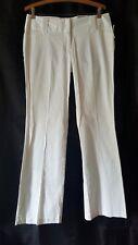 Maurices Women's Dress Slacks Pants sz 7/8 White E14 NEW