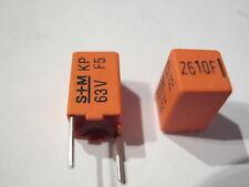 10 x 2610pf. 63v 1% rm7, 5, S + M Siemens KP condensatori b33531a... 10 ST = € 3,98
