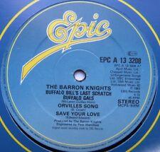 """Barron Caballeros-Buffalo Bill's Last arañazos-ex con 12"""" SINGLE EPIC A13 3208"""