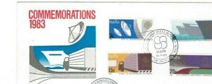 STAMPS. FDC.  – MALTA – COMMEMORATIONS  - 1983.