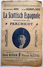 Partition alt partitur sheet music = Perchicot - La Scottisch Espagnole