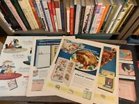1950'S  POST LIFE MAGAZINE AD PAGES APPLIANCES ADMIRAL GENERAL ELECTRIC ARTWORK