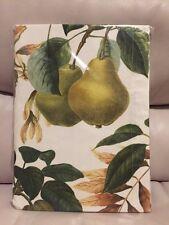 "Williams Sonoma Fall Botanical Pear Tablecloth 70x108"" 100% Cotton"