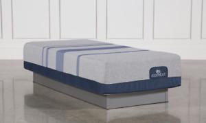 Serta iComfort Blue Max 1000 Twin XL Cushion Firm Gel Memory Foam Mattress NEW
