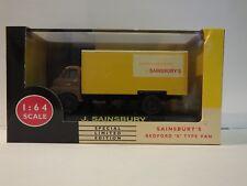 LLEDO VANGUARDS VA8004 BEDFORD S TYPE VAN - SAINSBURY'S - LIMITED EDITION