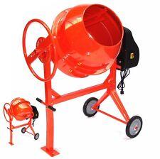 55447 Mezcladora 140L de hormigón hormigonera mortero tambor concreto 140 lit