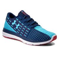 Under Armour UA Threadborne Singflex Shoes Mens Blue Running Trainers UK 11