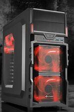 QUAD CORE Aufrüst PC AMD Bulldozer FX 4x3,6GHz 8GB DDR3 3xLüfter WLAN COMPUTER