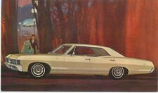 Chevrolet Impala Sport Sedan 1967 original USA issued Postcard