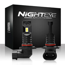 Nighteye H10 LED Luz de Niebla Blanco Frío 160W 1600LM Bombilla de conducción lámparas de xenón coche