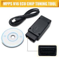 MPPS V16 ECU Flasher Chip Tuning Remapping Tool for EDC15 EDC16 EDC17 Inkl